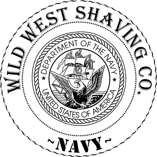 *NAVY* Shaving Soap - Black Berry, Bay Berry, Salt Air