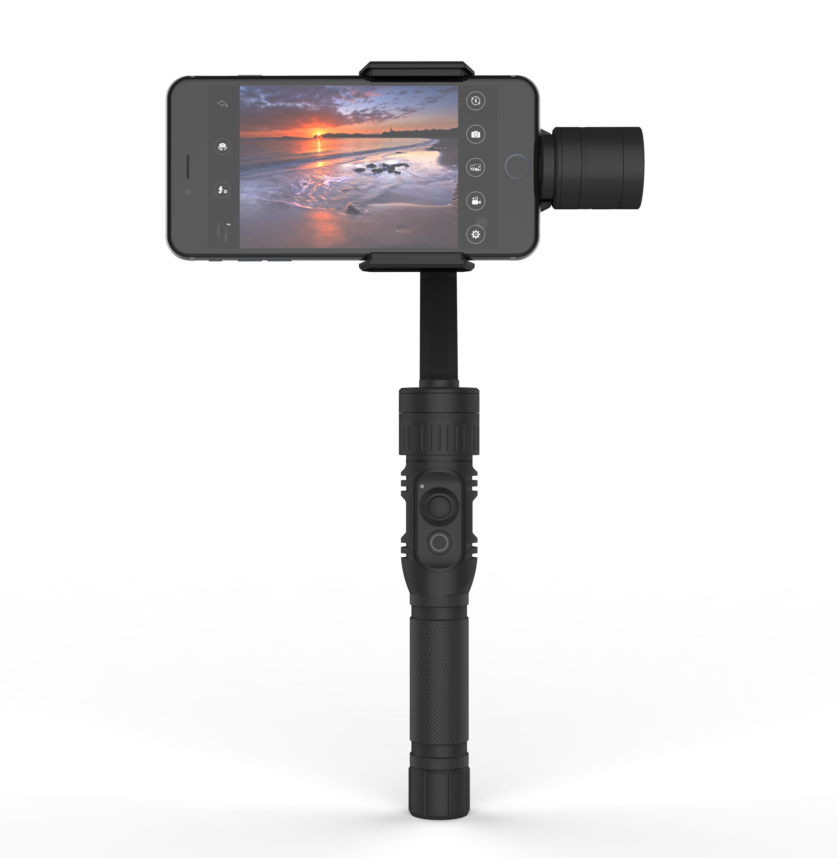 Stabilisateur pour smartphone & action-cam - STRATOS - noir Qantik - STRATOS