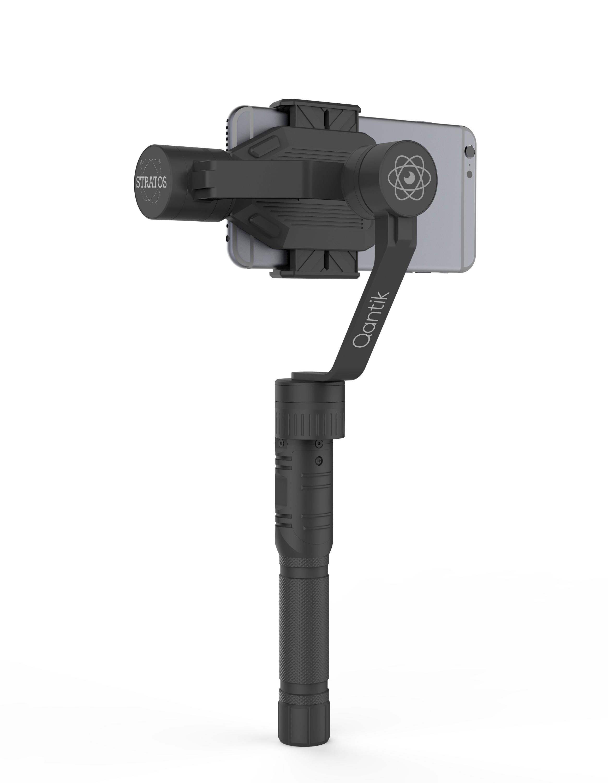 Stabilisateur avec smartphone de dos