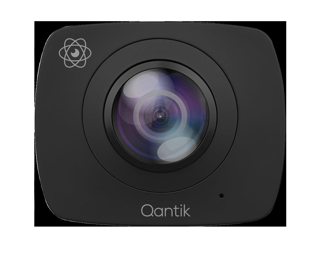Caméra 360° 2 objectifs - ORBIT 360 - noire Qantik - ORBIT 360