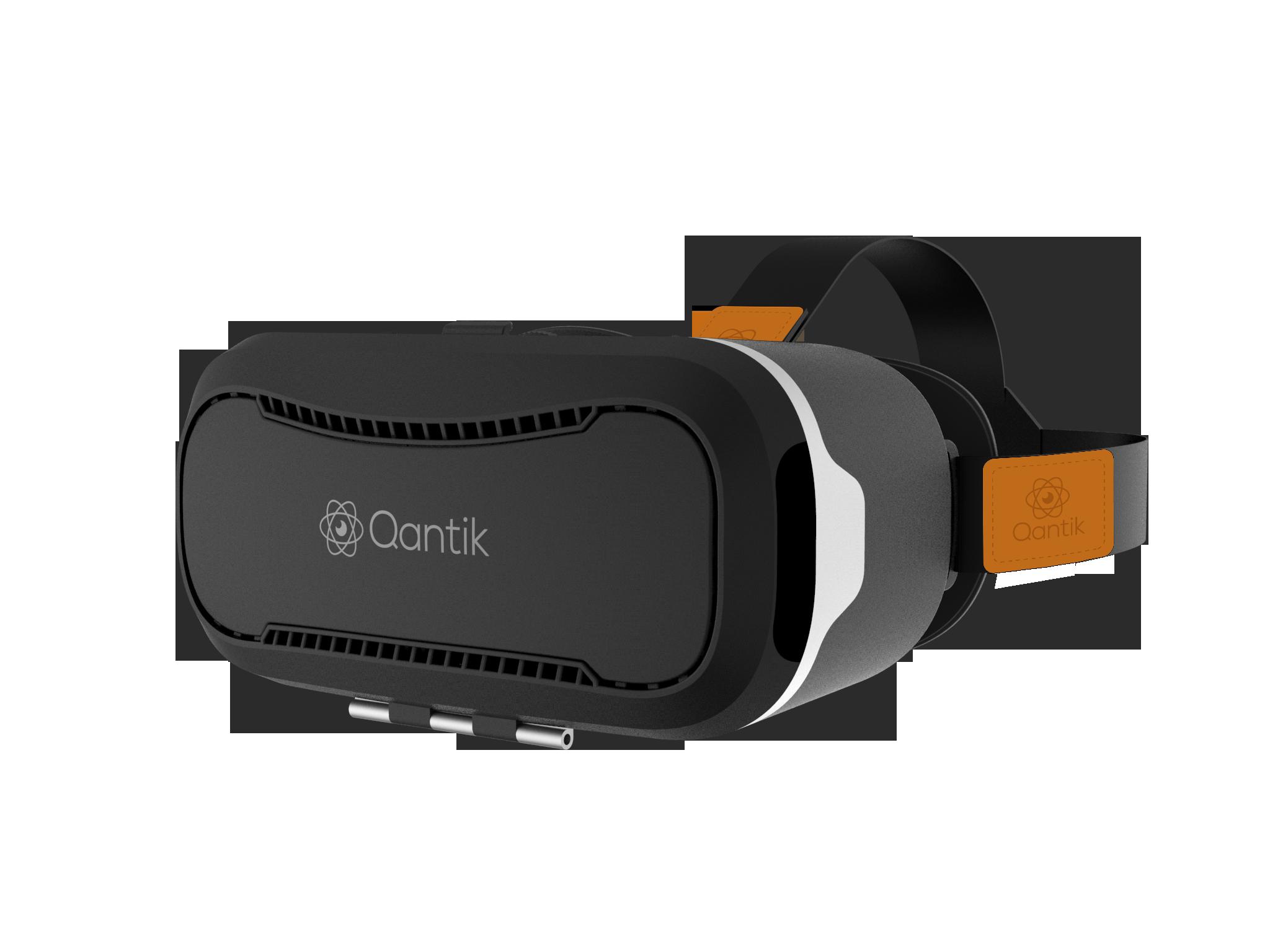 Casque de réalité virtuelle - COSMO² - noir Qantik - COSMO²