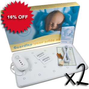 SPECIAL OFFER - TWO BABY BREATHING MONITORS FOR TWINS