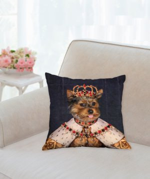 Custom Pet Portrait Pillows 00029