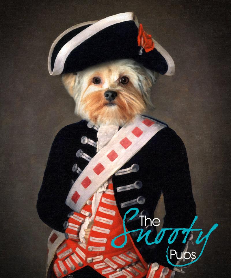 Custom Dog Portrait - Soldier