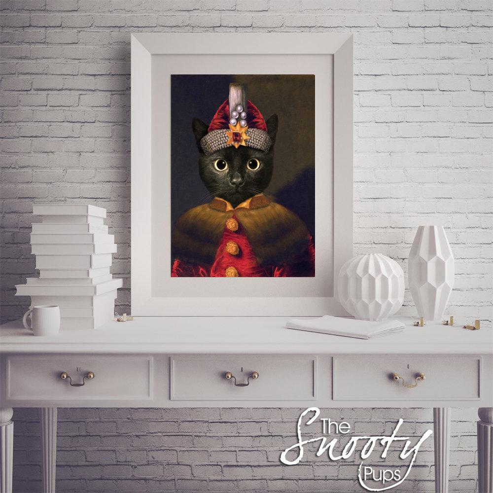 Dracula - Vlad the Impaler CAT Custom Portrait