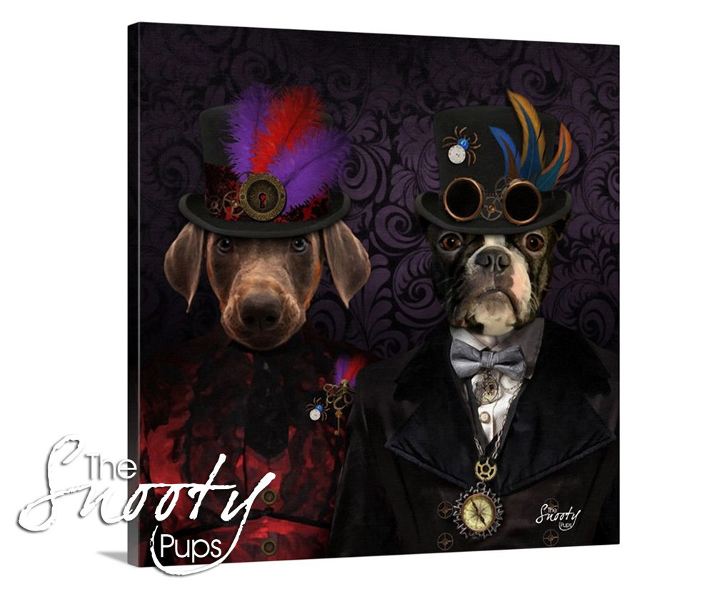 Steampunk Pet Portrait