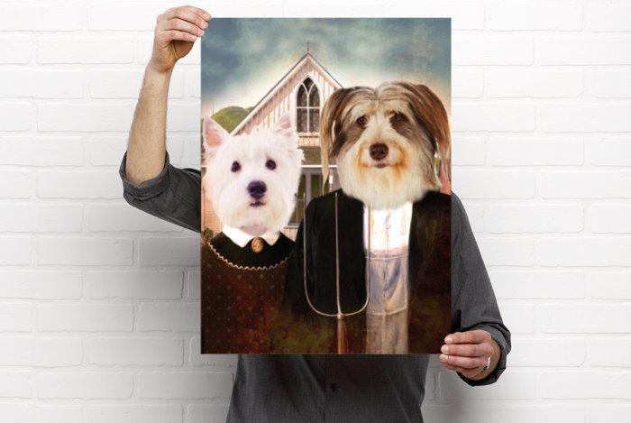 Couple Pet Portrait