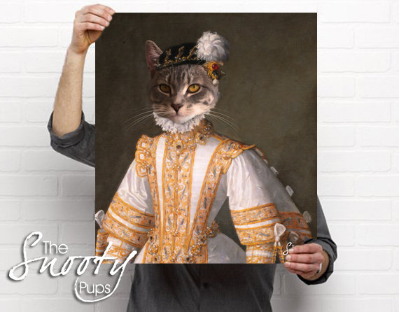 Miss Bell Portrait Cat Portrait
