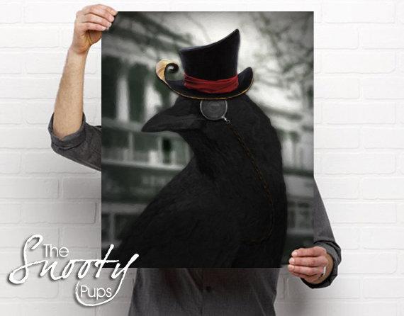 Crow Portrait