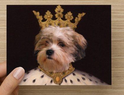 Pet Portrait Notecards - Cat Portrait Note Cards - Dog Portrait Note Cards 00120