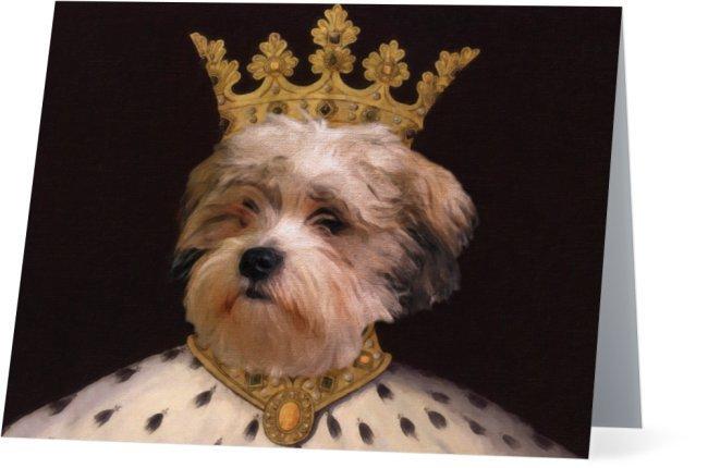 Pet Portrait Notecards - Cat Portrait Note Cards - Dog Portrait Note Cards