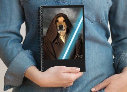 Custom Pet Portrait Notepad 00124