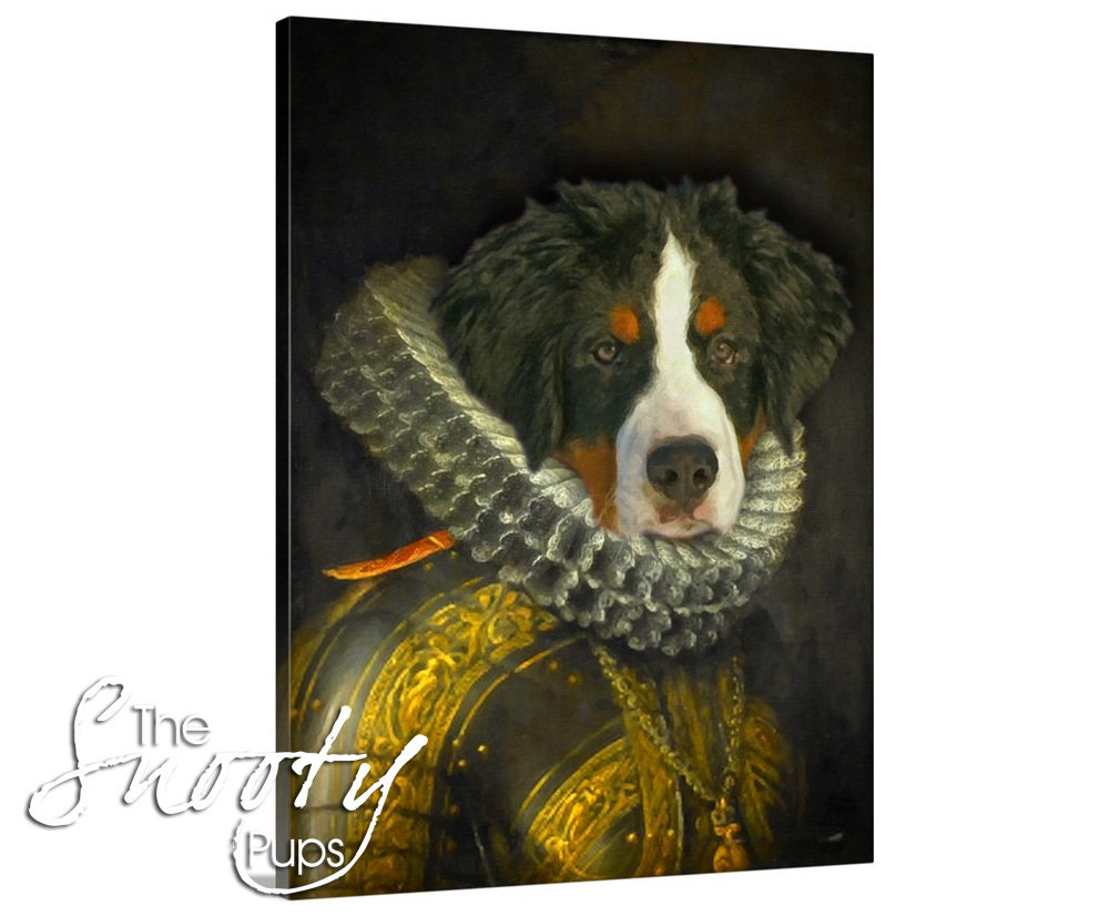 Dutch Custom Dog Portrait