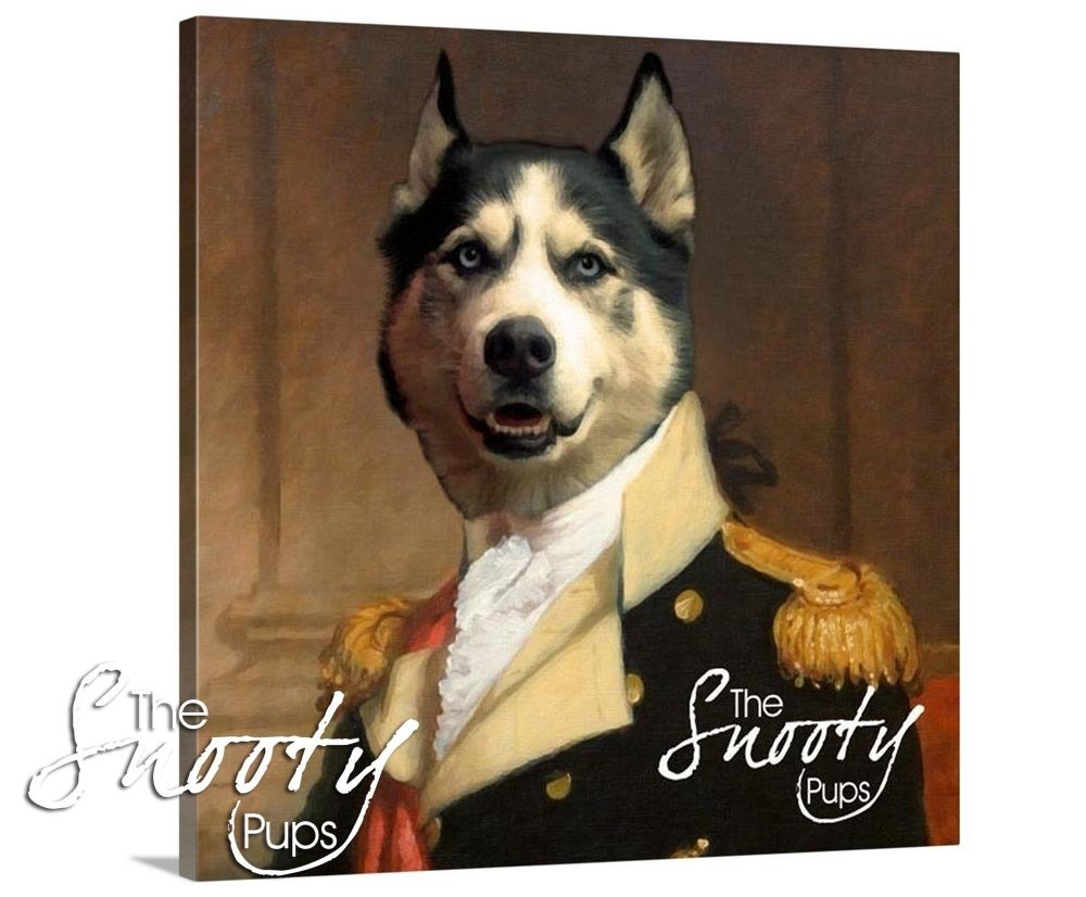 General Dog Portrait Canvas