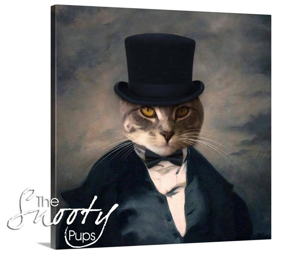 Mr Stogy Portrait Cat Portrait