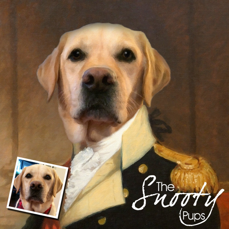 General Custom Dog Portrait 00136