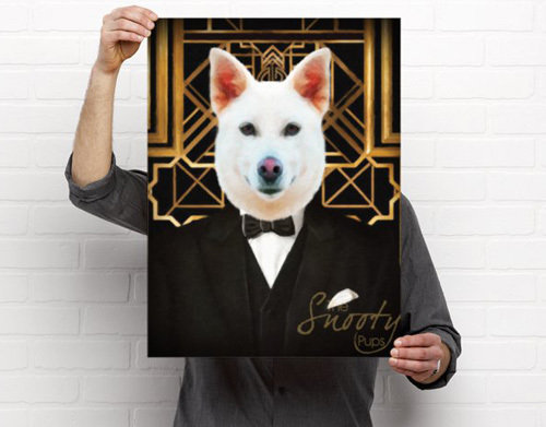 Pet Portrait Poster