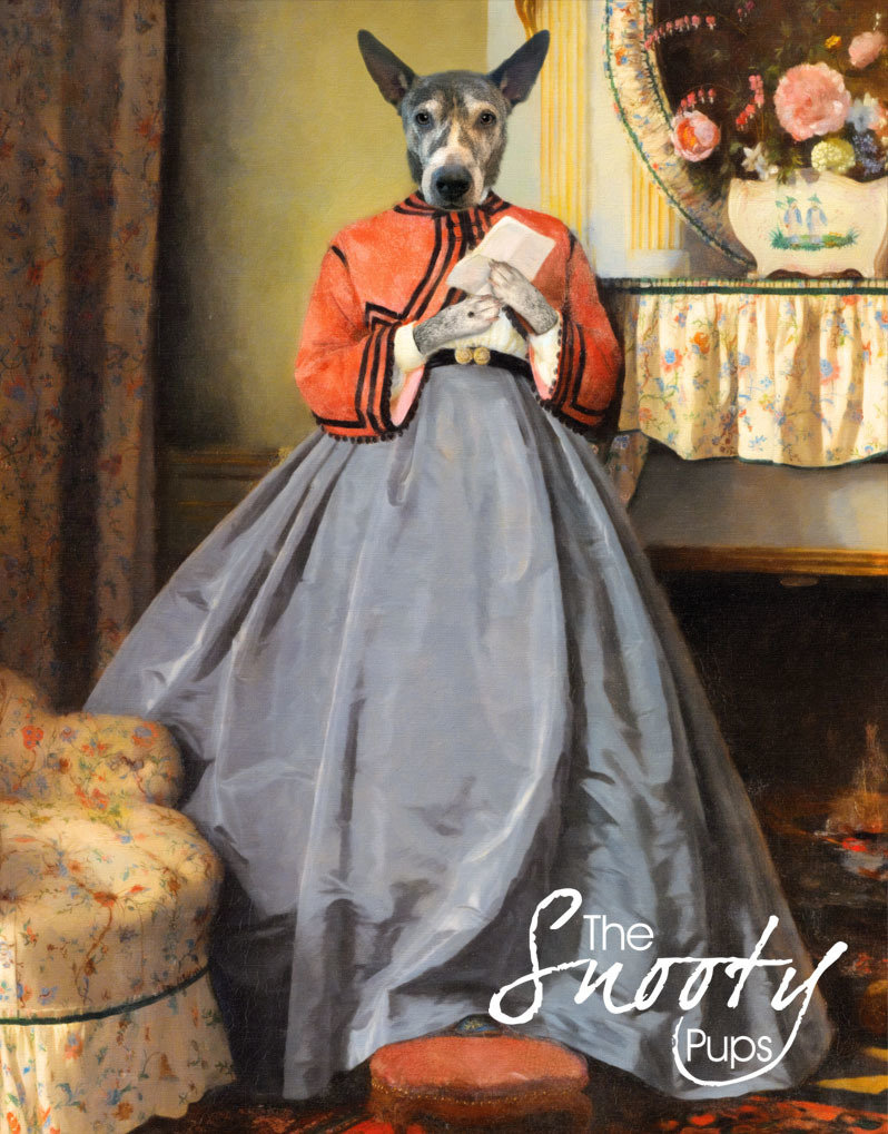 Love Letters -DOG Custom Portrait 00167
