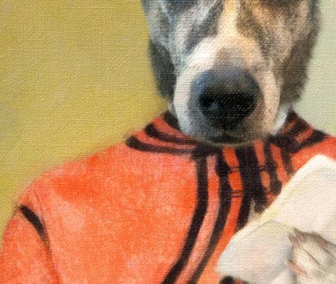 Love Letters -DOG Custom Portrait