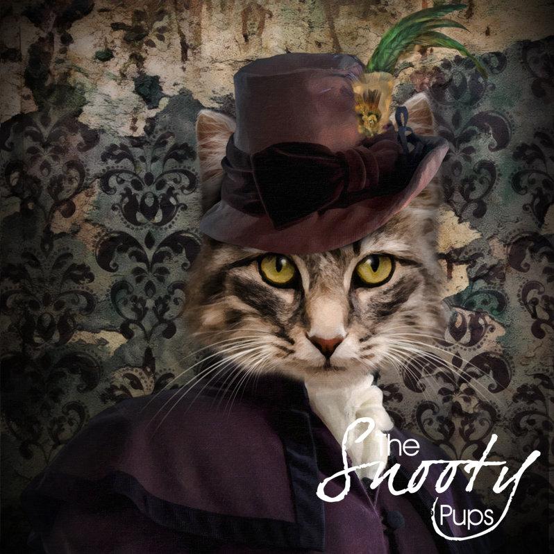 Victorian Custom Cat Portrait