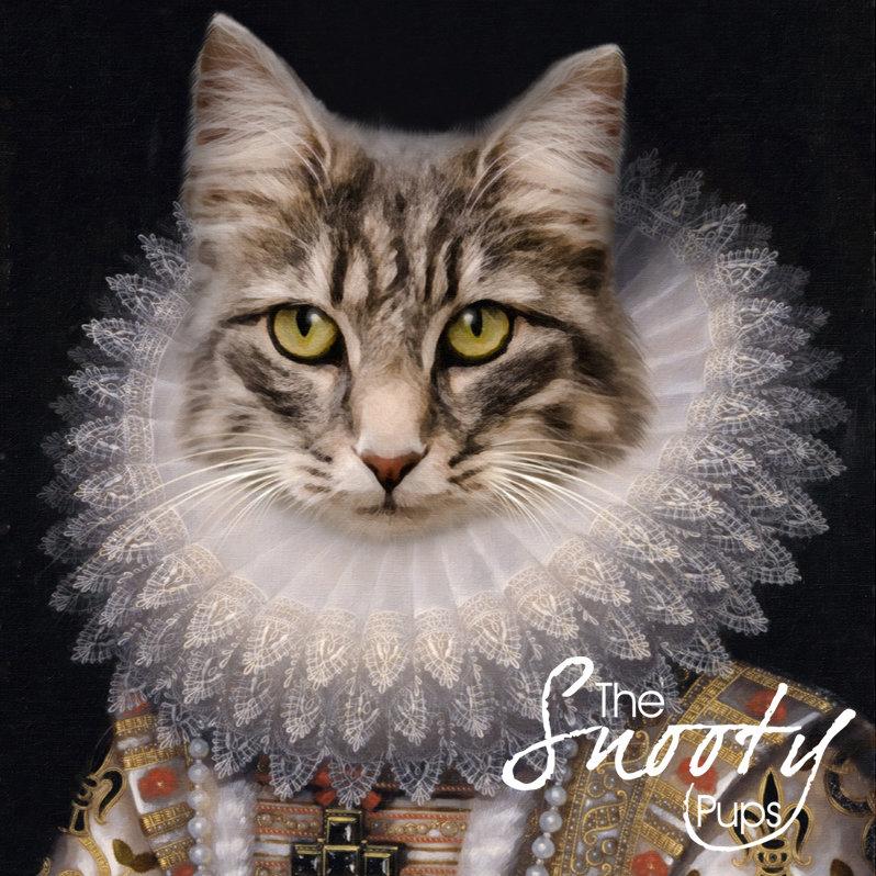 Queen Nola Custom Cat Portrait