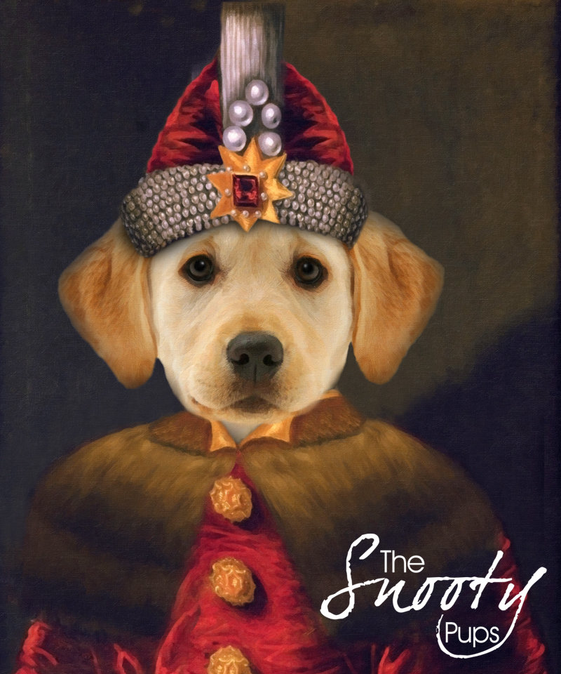 Dracula - Vlad the Impaler Dog Custom Portrait