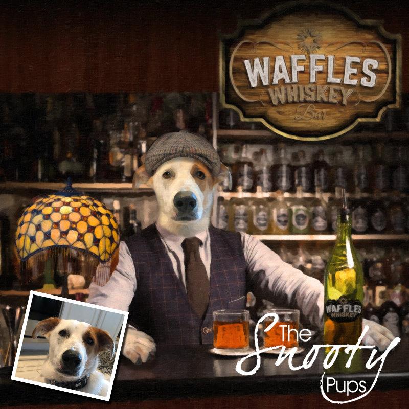 Dog Portrait - Bartender