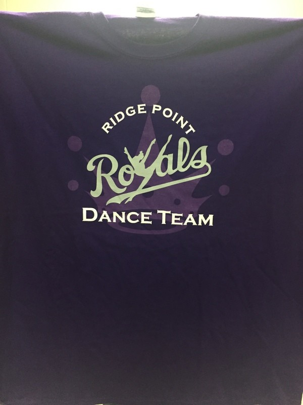 Dance Team with Crown Tshirt