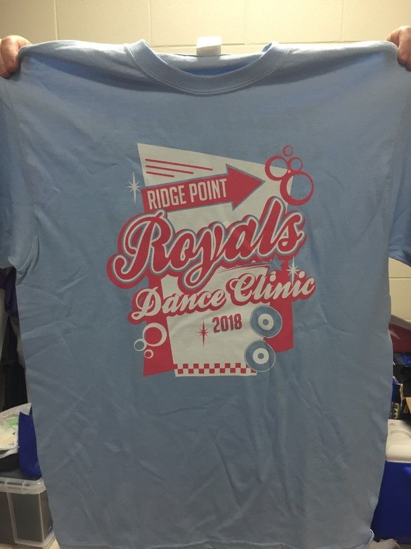 Royal Diner Dance Clinic Tee