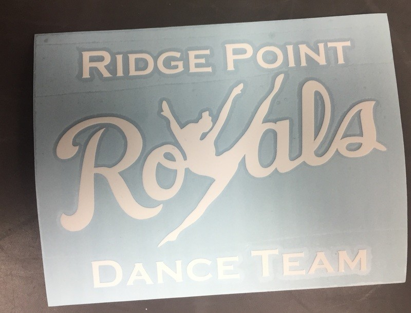 Royals Dance Team Decal