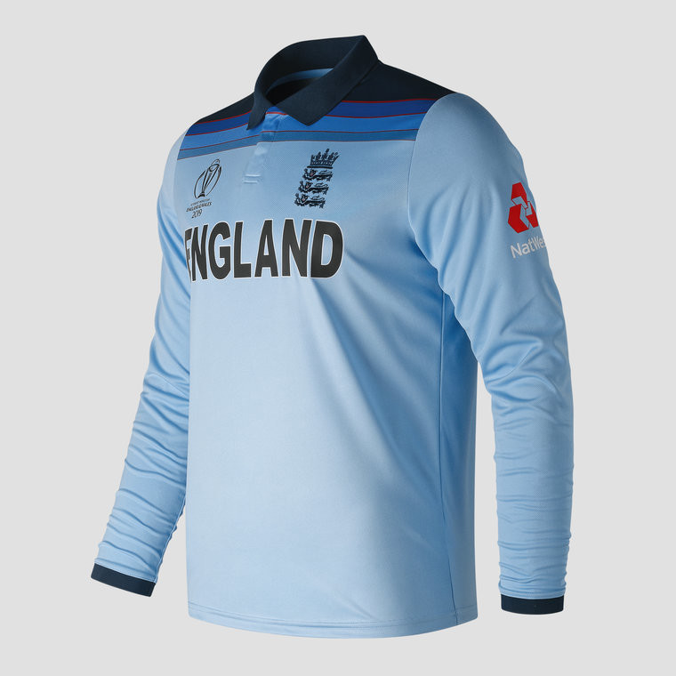 new concept 2c7f8 5837e New Balance England World Cup 2019 Replica Shirt - Long Sleeve