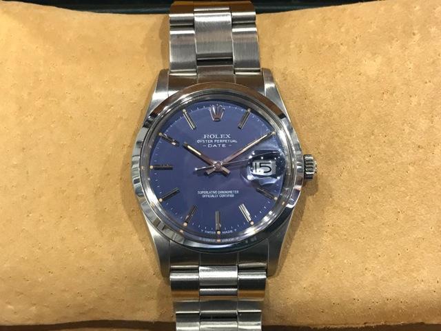 Rolex Vintage Datejust Blue dial
