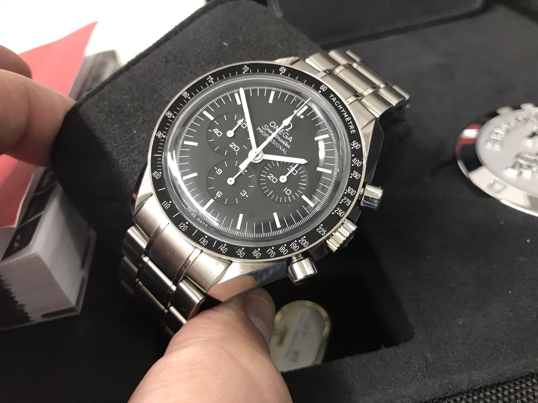 (SOLD) Omega Speedmaster Moon watch 311.30.42.30.01.005