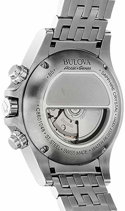 Bulova AccuSwiss Kirkwood Automatic Chrono