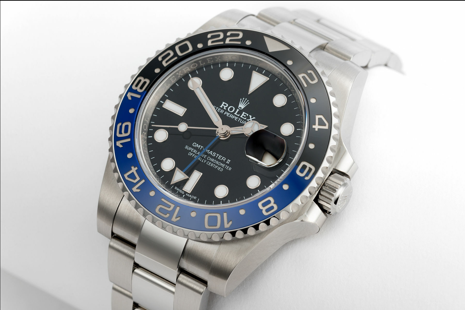 ROLEX Batman 116710 Coming soon  2016 with Box and papers 26376