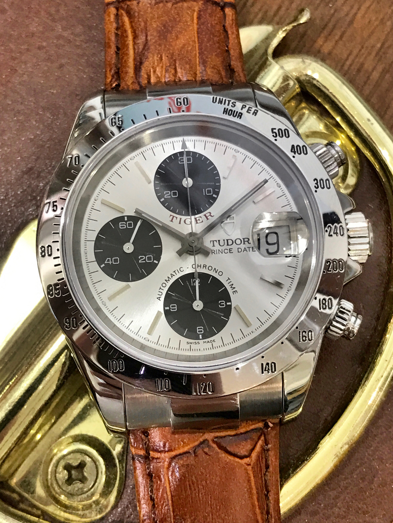 Tudor Prince Chrono Tiger Woods edition 116306