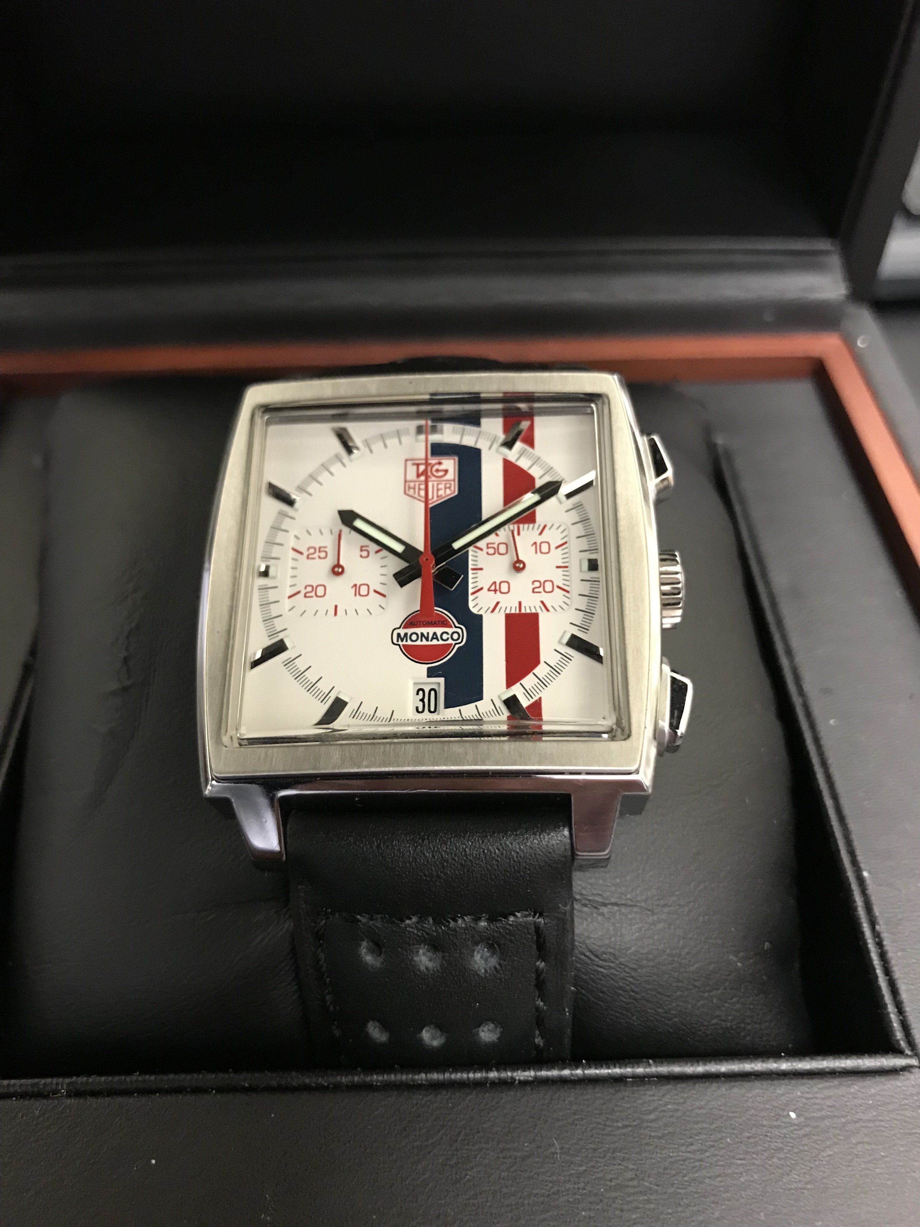 Tag Heuer Monaco Limited Edition ca. 2005 CW2118