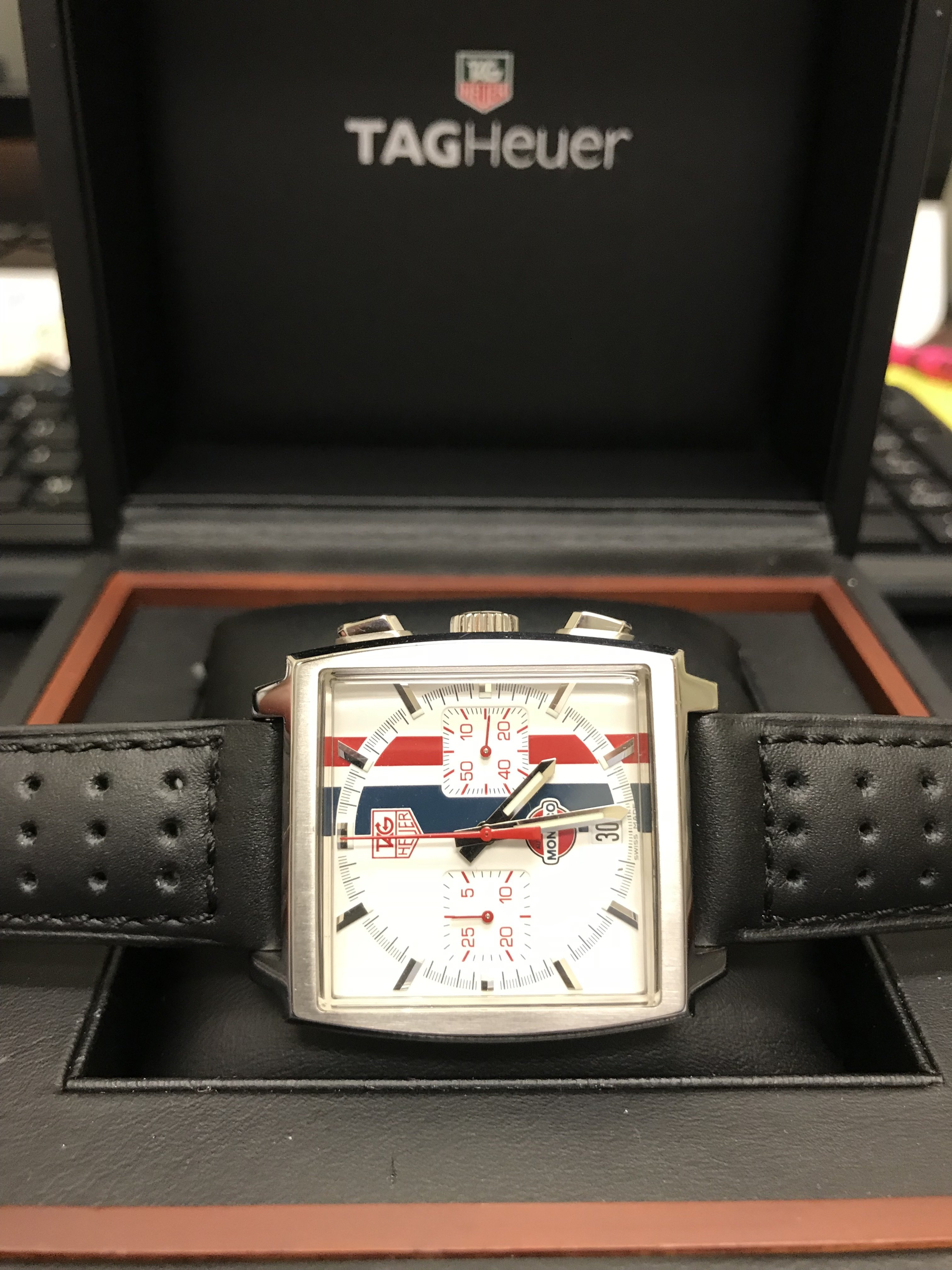 Tag Heuer Monaco Limited Edition ca. 2005