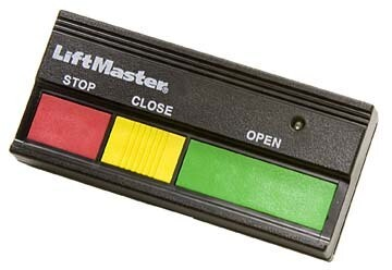 33LM LiftMaster Commercial Open, Close, Stop Remote 390MHz