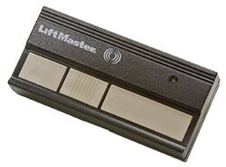 363LM LiftMaster Three Button Commercial Visor Remote 315MHz