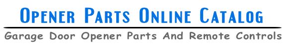 Opener Parts Online Catalog