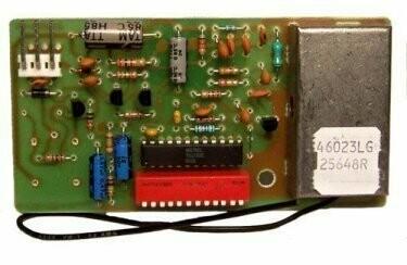 Genie 25648R Circuit Board, Current Board 20285R, 390MHz