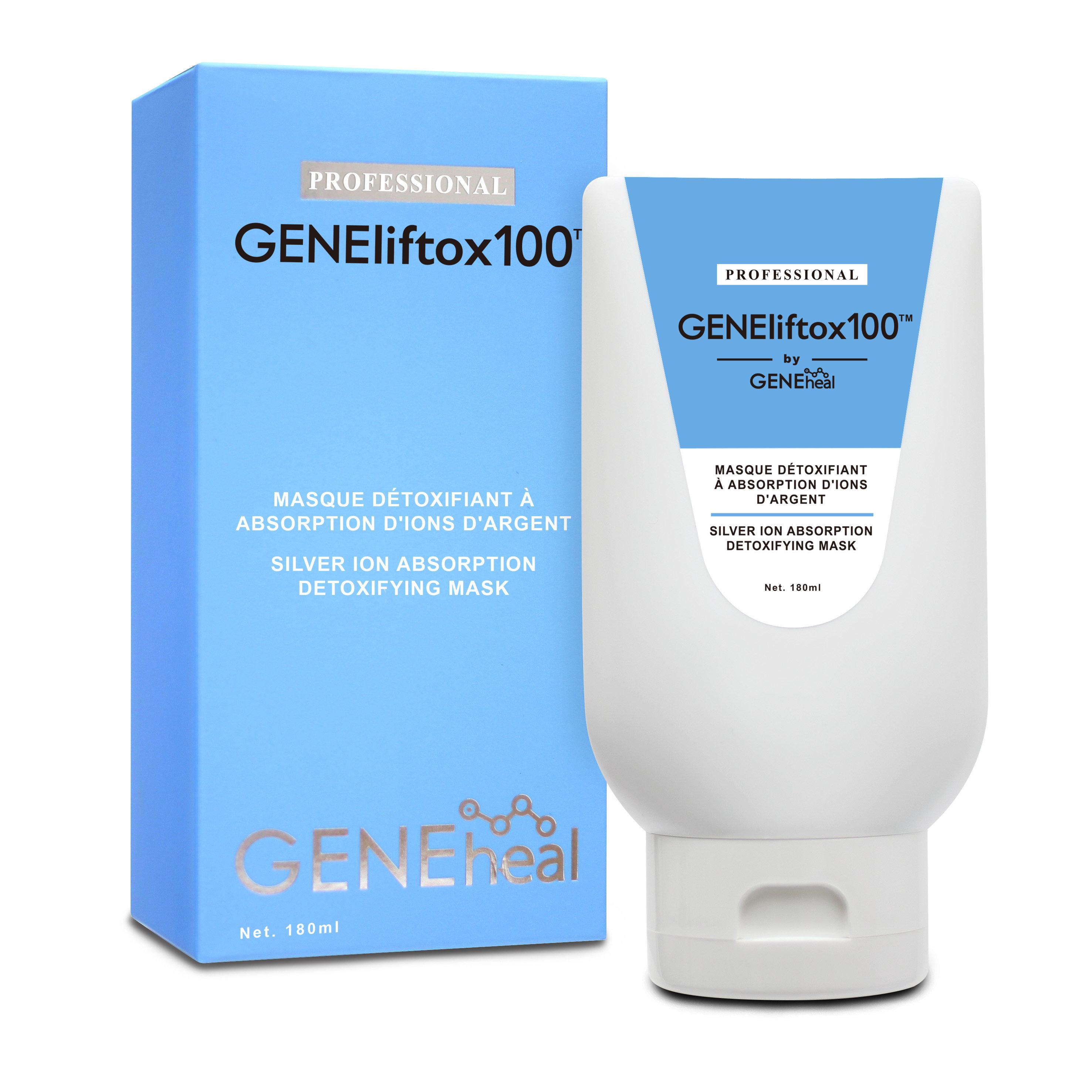 GENElitox 100 - 銀離子・吸附 排毒淨顏面膜 GH-E-18-014-P