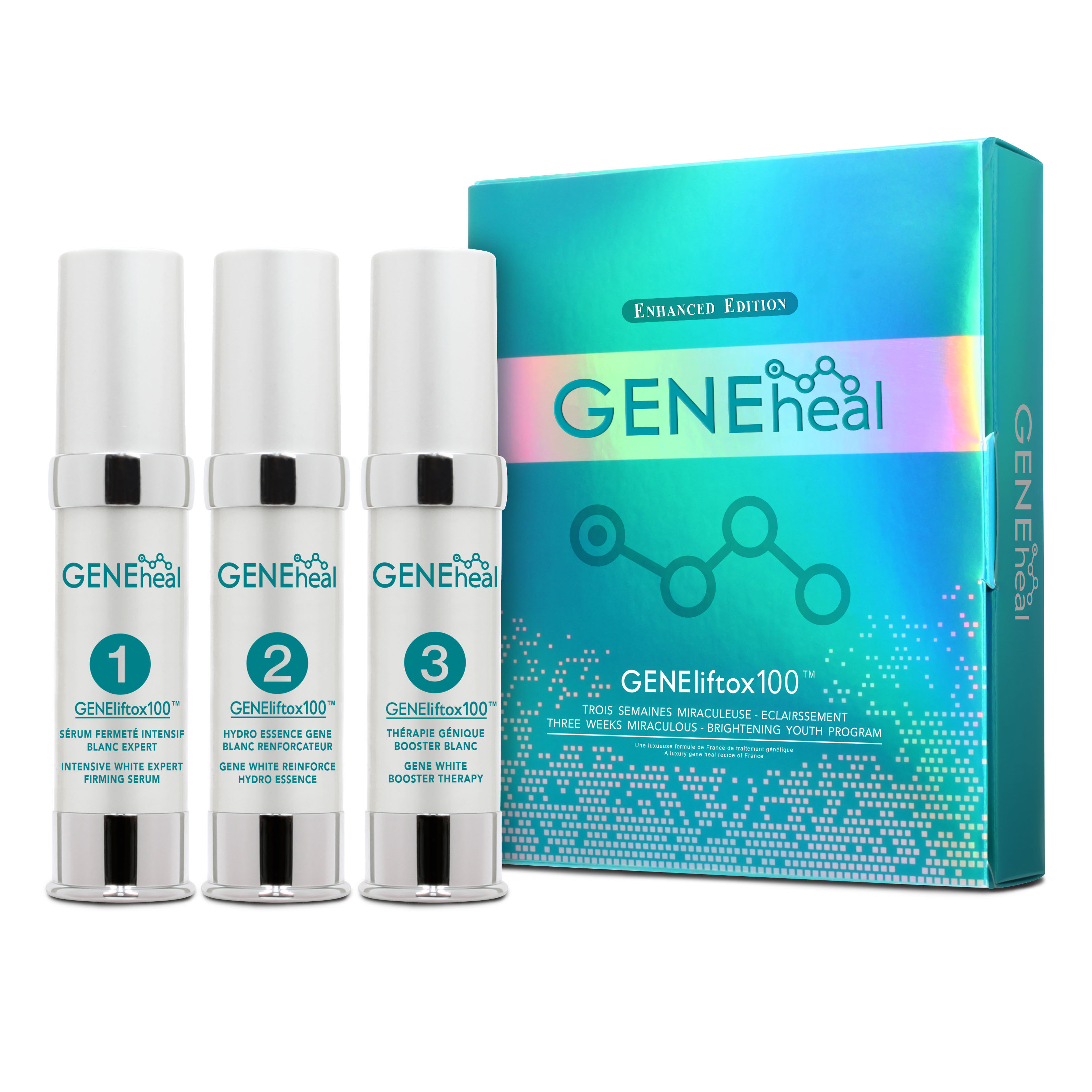 GENEheal 3週奇蹟 - 瞬間亮澤嫩肌方案 GH-D-14-001