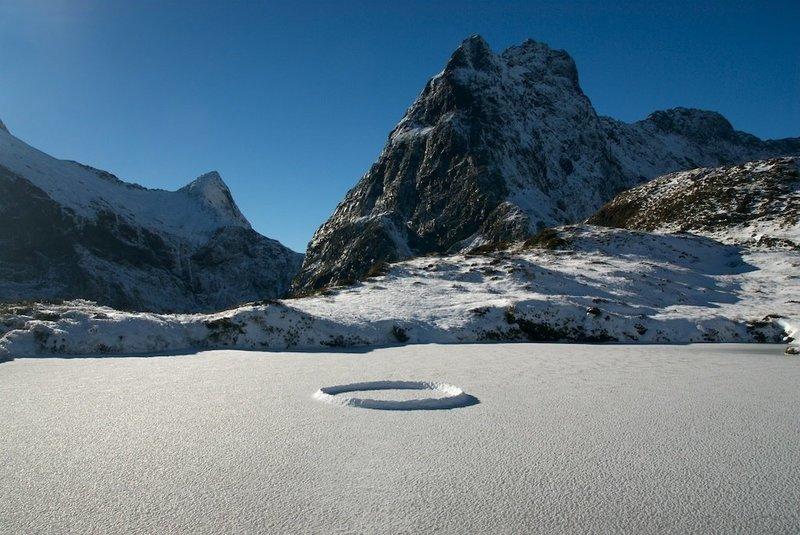 Milford Track Ice Circle