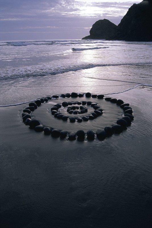 Beach Stone Rings