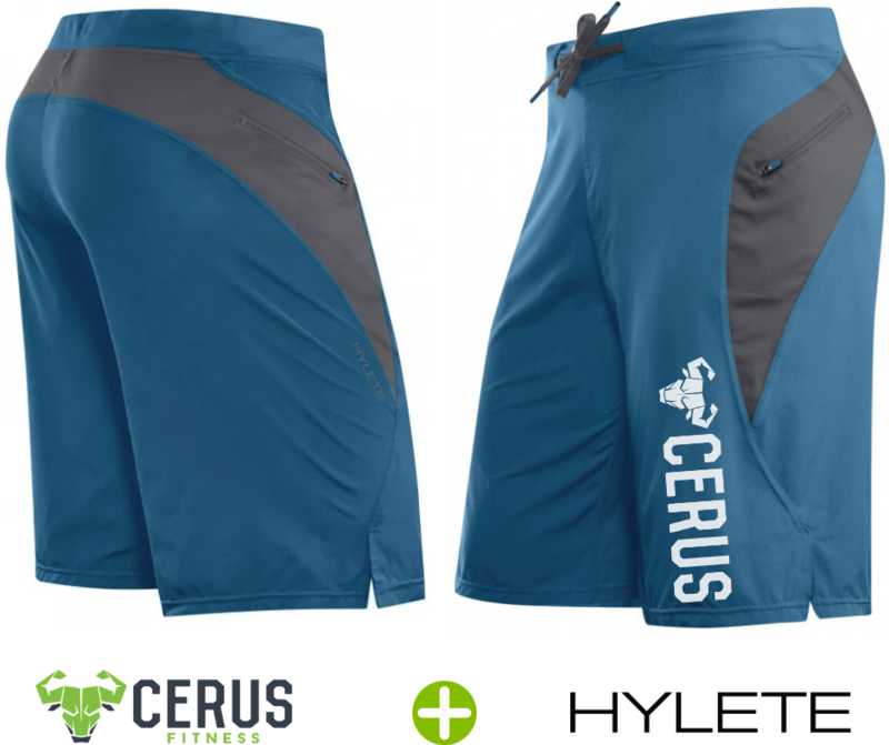 Cerus by Hylete Verge II Flex Woven Shorts Zip Pocket