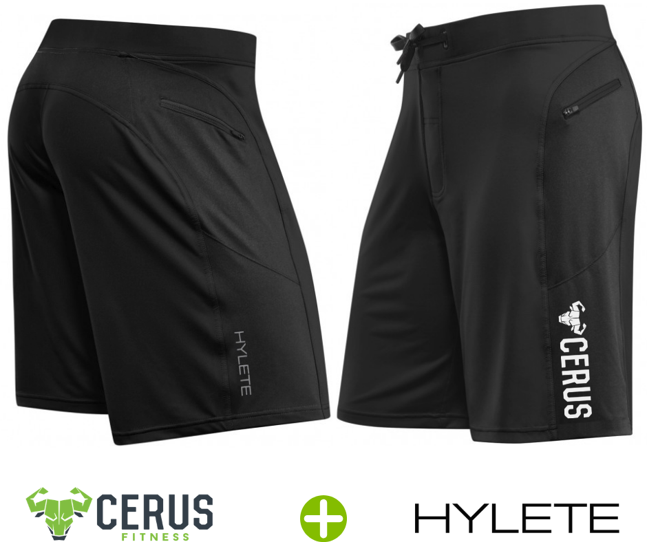 Cerus by Hylete Helix II Flex-Knit Integrated Pocket Short