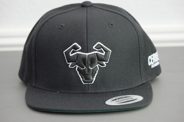 27d6ba45f Cerus Black Halo Snapback Hat