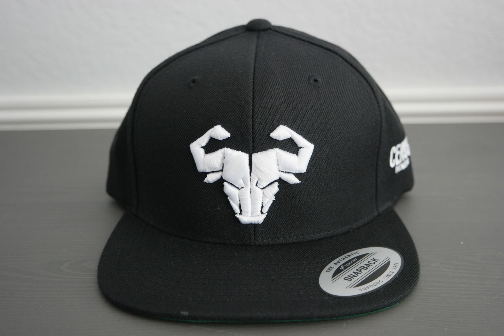 Cerus Black Snapback Hat 00051